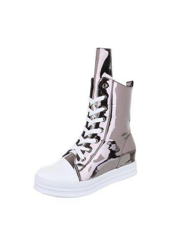 Neckermann Dames Sneakers - gunmetal