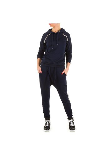 EMMA&ASHLEY DESIGN Dames joggingpak van Emma&Ashley Design - blauw