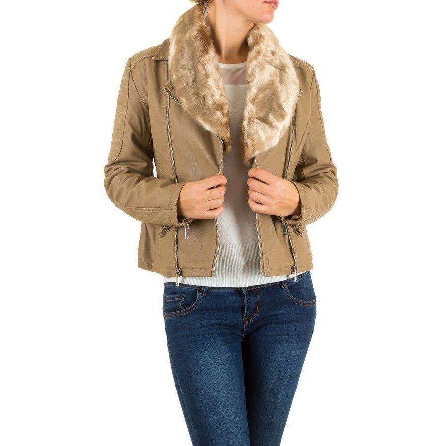 Damen Jacke von Emma&Ashley Design - beige