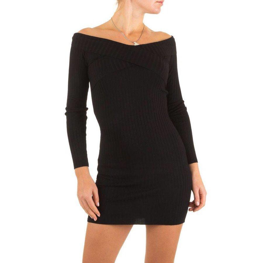 Damen Kleid Gr. one size - black