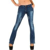 Damen Jeans von Farfallina - blue