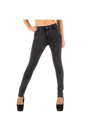 Ld style Damen Jeans von Ld Style - grey