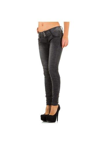 JUST F Dames Jeans van Just F - Grijs