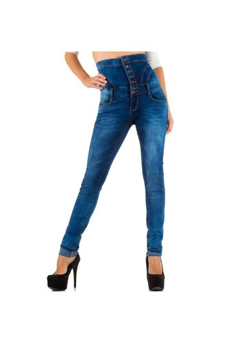 JUST F Dames Jeans van Just F - blauw