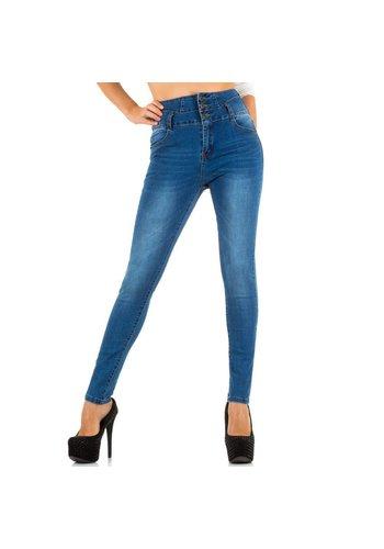 MISS BONN Dames Jeans van Miss Bonn - blauw