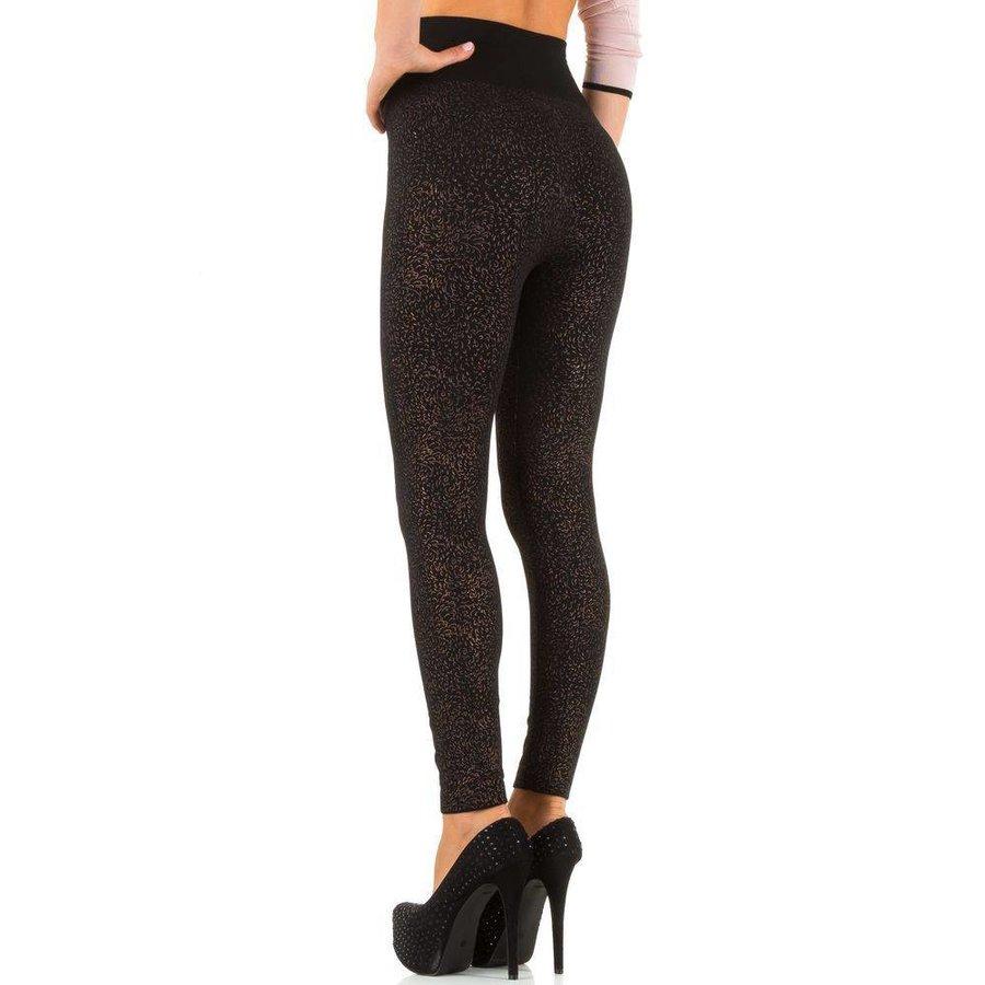 Damen Leggings von Best Fashion Gr. one size - gold