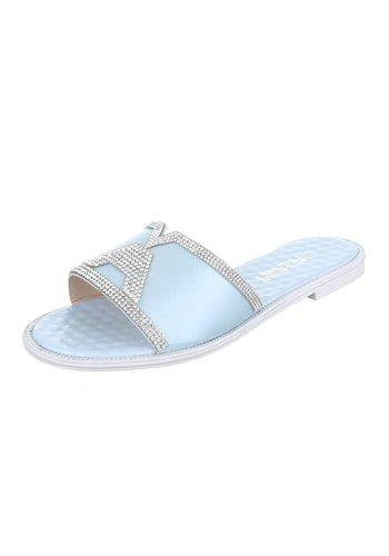 Neckermann Damen Sandaletten - blue