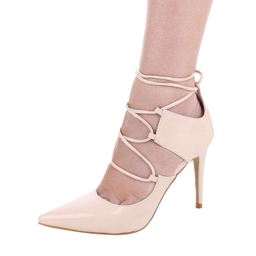 Damen+Sandaletten+-+beige