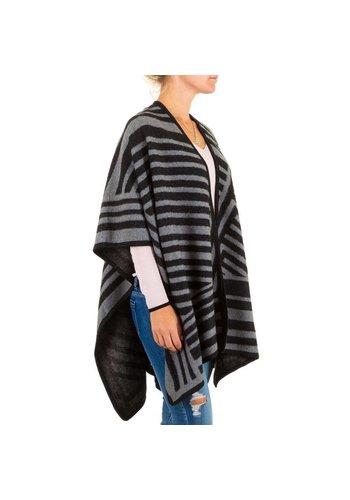 Best Fashion Damen Poncho von Best Fashion Gr. one size - black