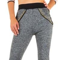 Damen Leggings von Best Fashion - grey