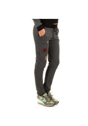KIMI&CO Pantalons femme de Kimi & Co - gris