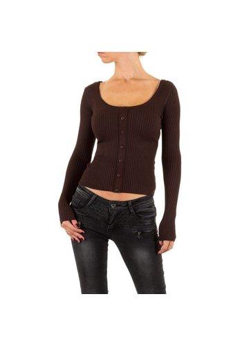 Neckermann Damen Pullover Gr. one size - brown