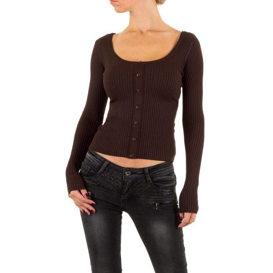 Damen Pullover Gr. one size - brown