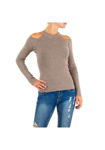 MC LORENE Damen Pullover von Mc Lorene Gr. one size - taupe