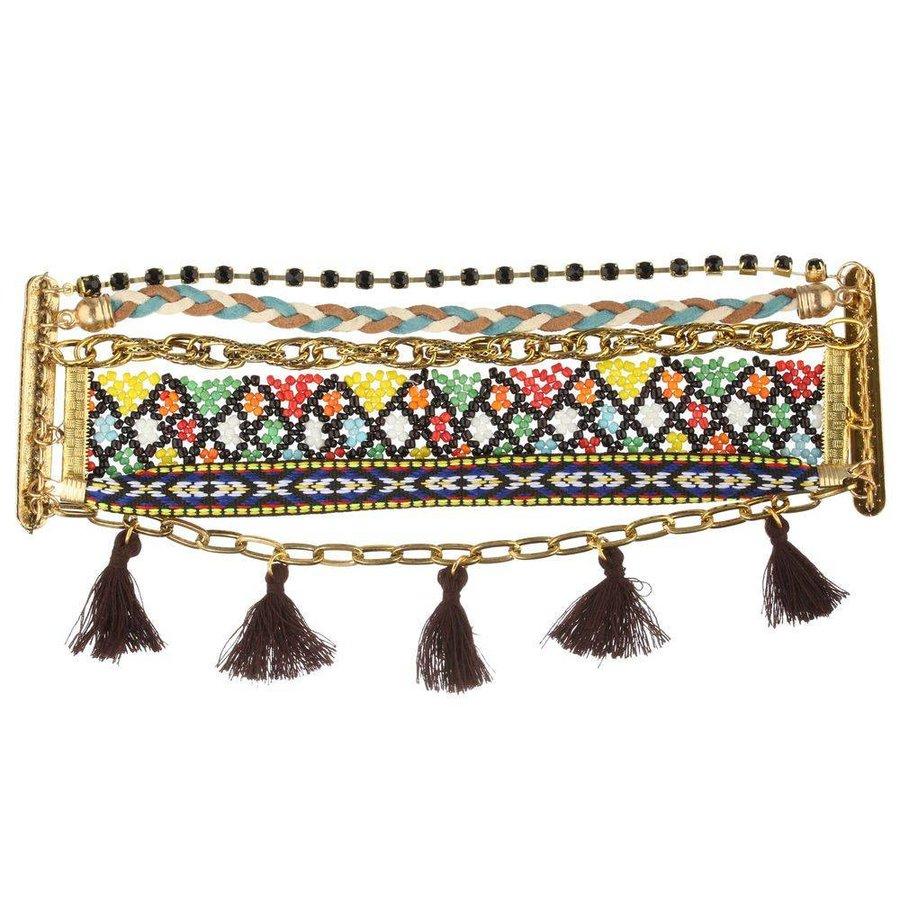 Damen Armband - brown