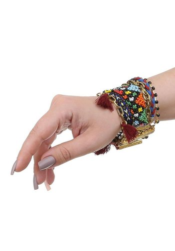 Neckermann Damen Armband - bordeaux