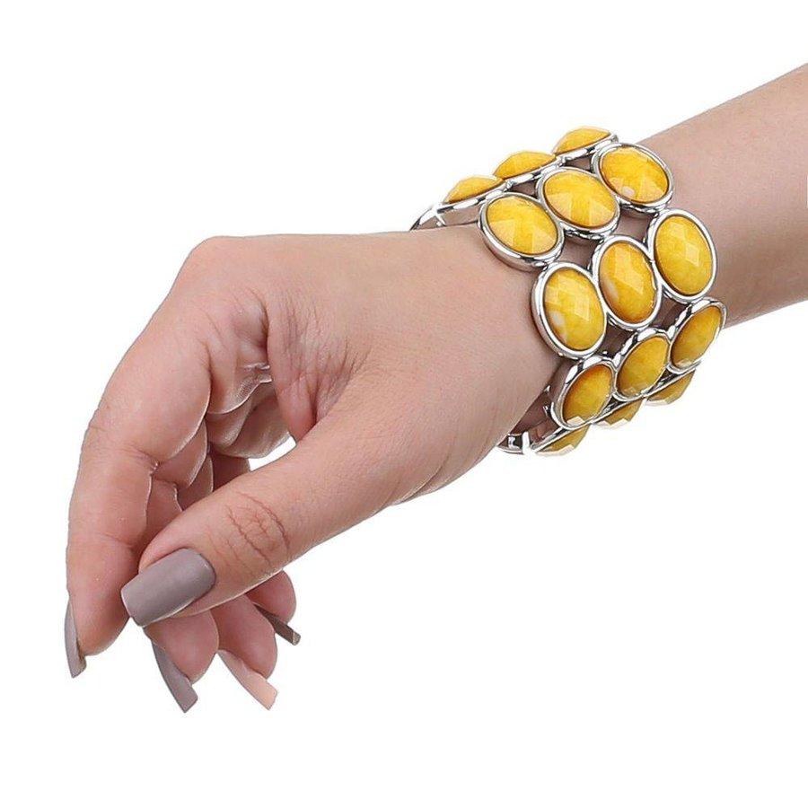 Damen Armband - yellow