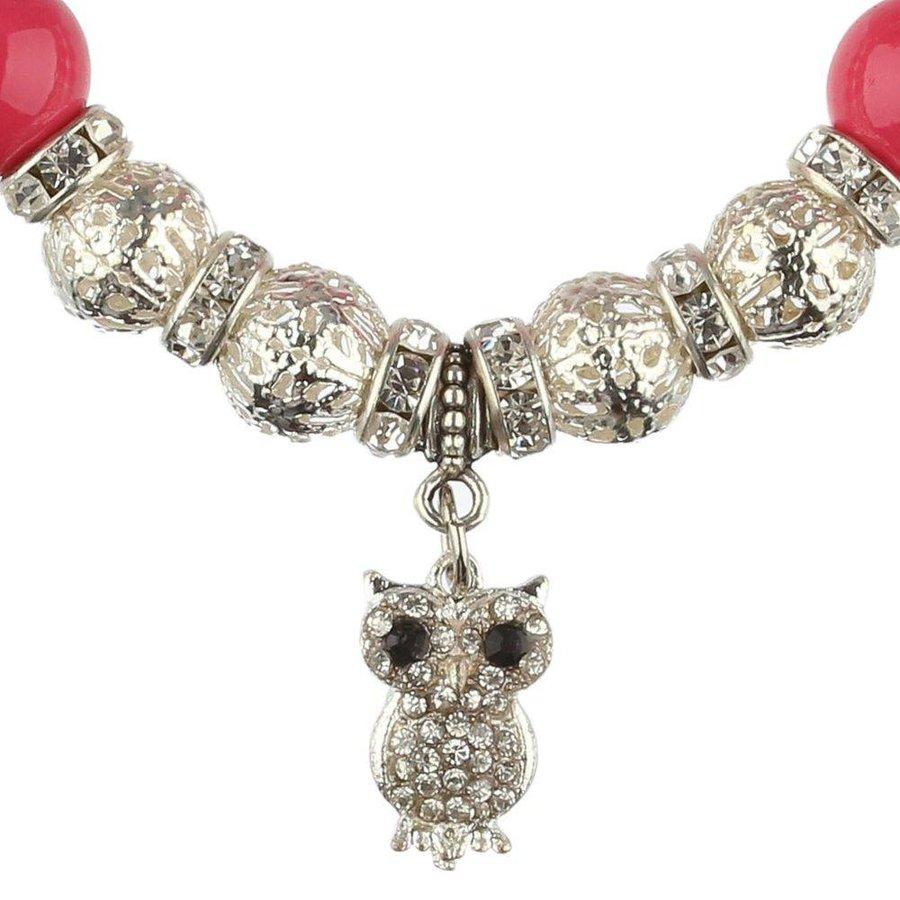 Damen Armband - fuchsia