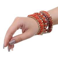 Damen Armband - orange