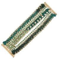 Damen Armband - green
