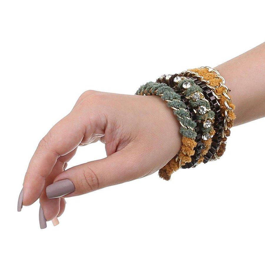 Damen Armband - camel