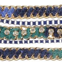 Damen Armband - blue