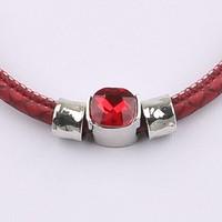 Damen Halskette - red
