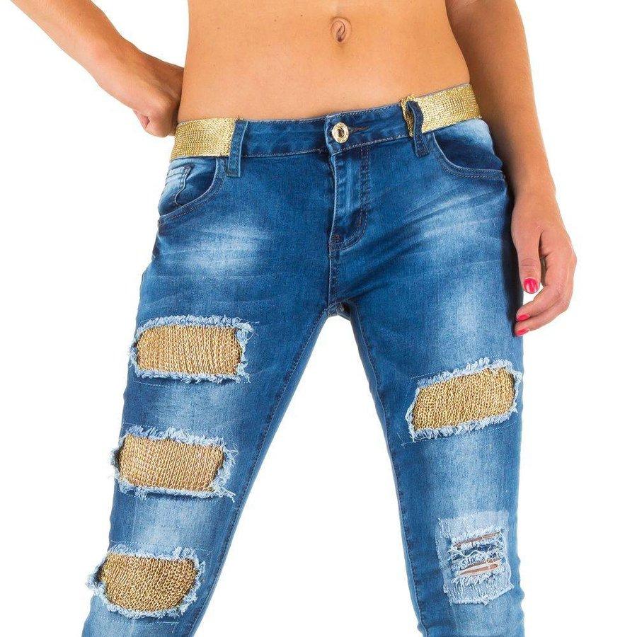 Damen Jeans von Girl Vivi - blue