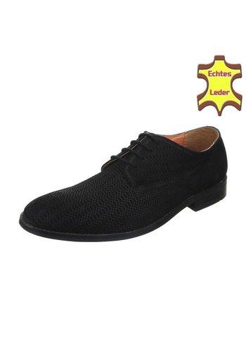 Neckermann Chaussures décontractées en cuir - noir