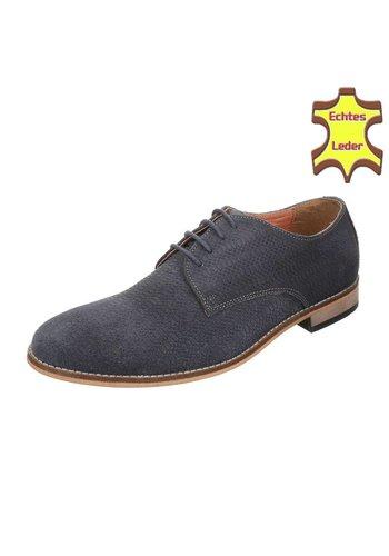 Neckermann Chaussures décontractées en cuir - gris foncé