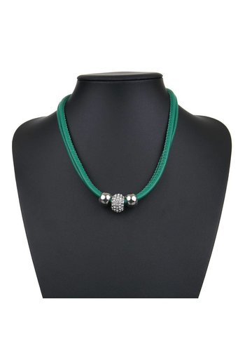 Neckermann Damen Halskette - green