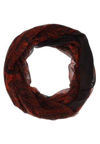 Neckermann Dames Sjaal one size - oranje