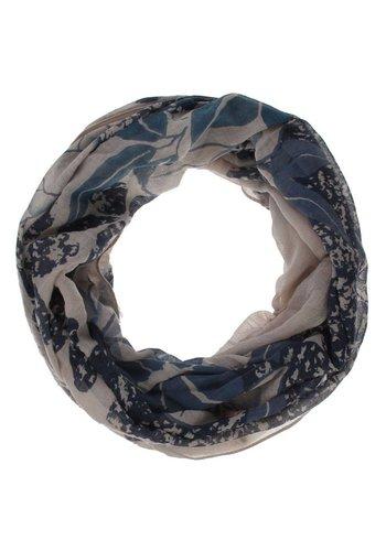Neckermann Dames Sjaal One Size - blauw