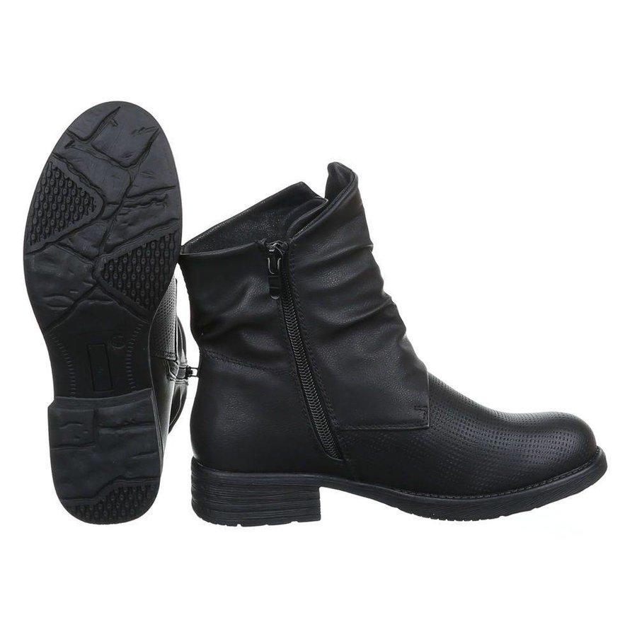 Damenstiefelette - schwarz