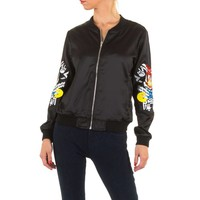 Damen Jacke von Jcl - black