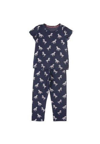 Markenlos Kinder Schlafanzug von M&S - navy