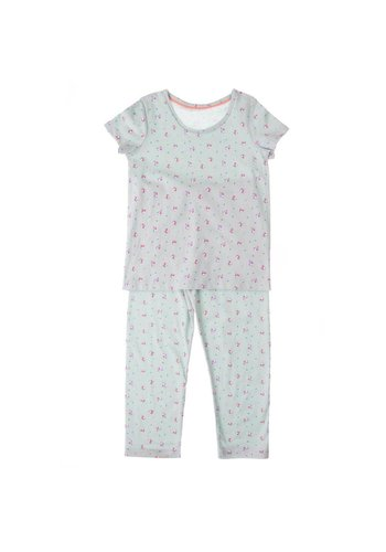 Markenlos Kinder Schlafanzug von M&S - mint
