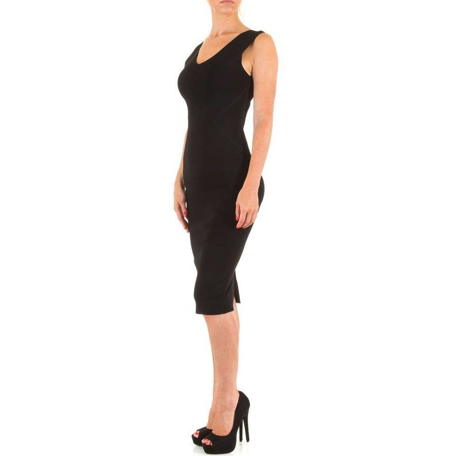 Damen Kleid von Moewy Gr. one size - black