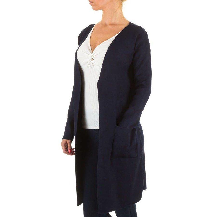Damen StrickJacke von Moewy Gr. one size - DK.blue