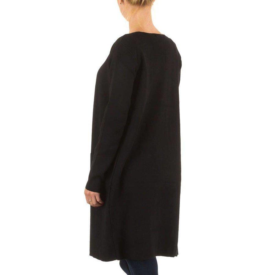 Damen StrickJacke von Moewy Gr. one size - black