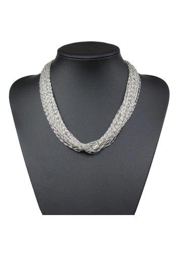 Neckermann Damen Halskette - L.silver