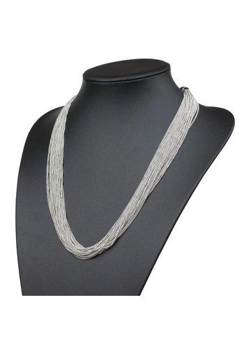 Neckermann Dames halsketting Zilver Licht