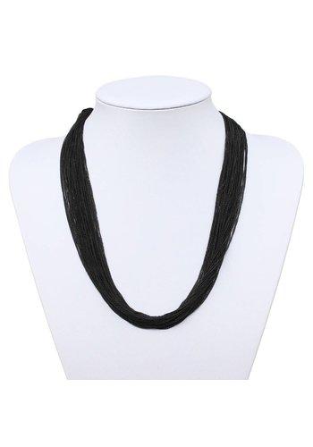Neckermann Dames halsketting Zwart
