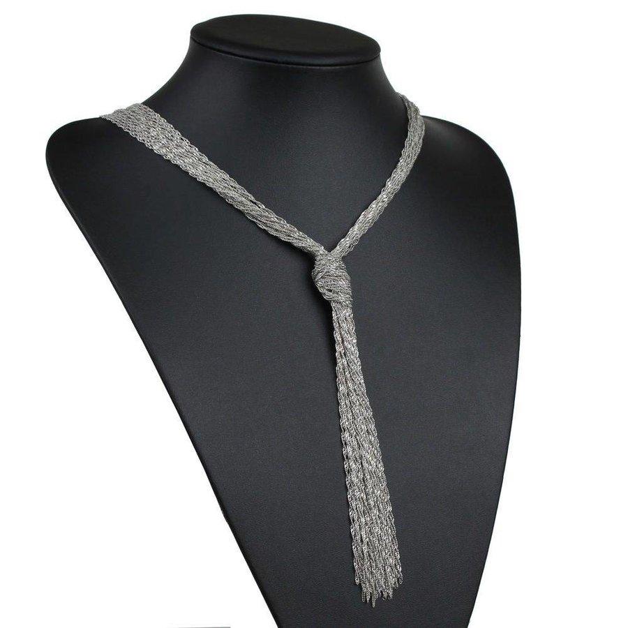 Damen Halskette - L.silver