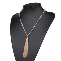 Damen Halskette - gold