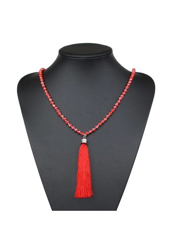 Neckermann Damen Halskette - red