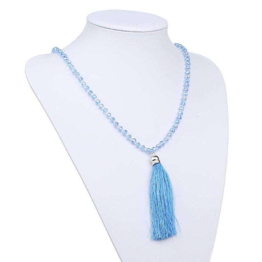 Damen Halskette - L.blue