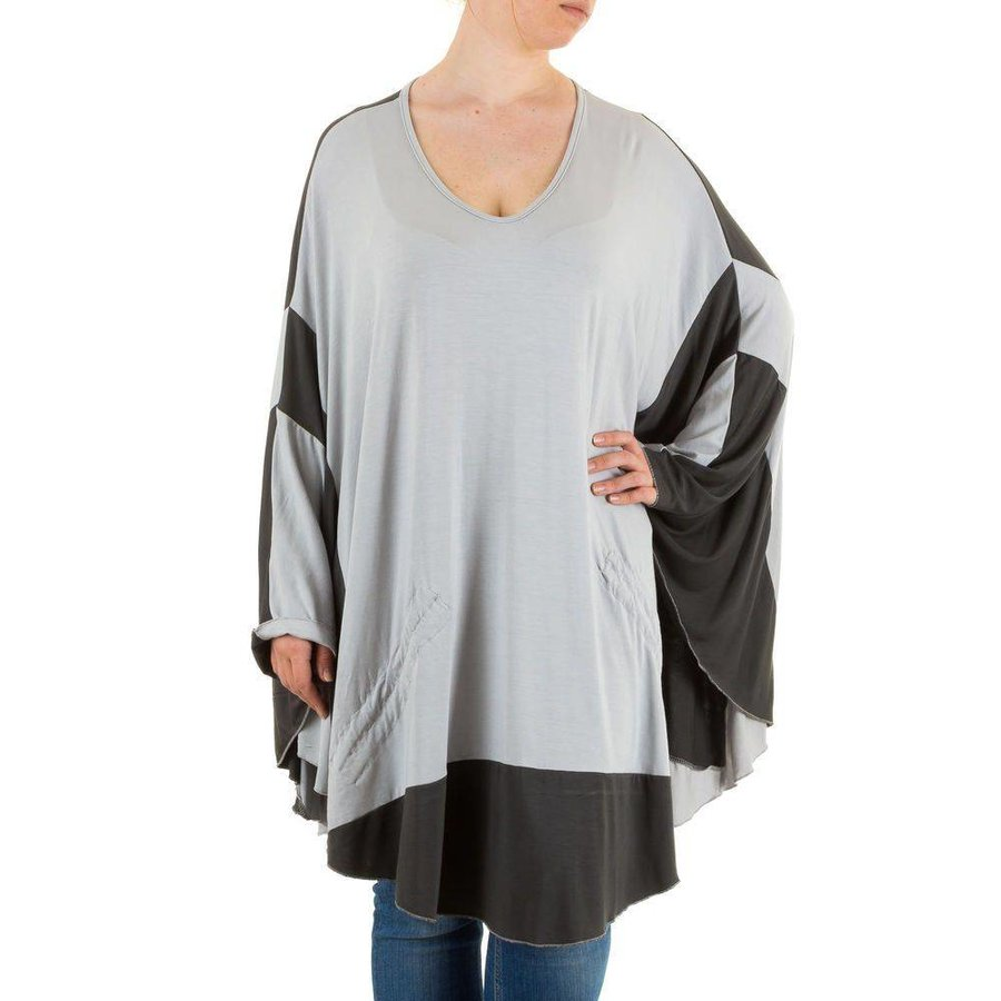 Damen Tunika Gr. one size - L.grey