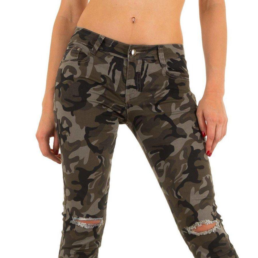 Damen Jeans von Miss Rj - armygrey