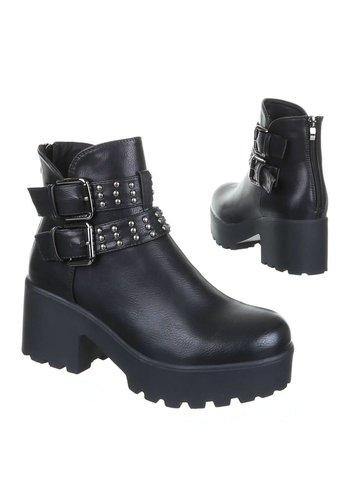 FLYFOR Damenstiefelette - schwarz